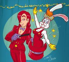 Jessica and Roger Rabbit under Rule 63 by Christo-LHiver