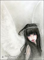 Snow Angel by Katerina-Art