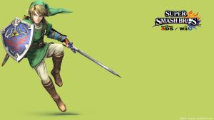 Link 2 | Wallpaper| Super Smash Bros. Wii U/3DS by Gibarrar
