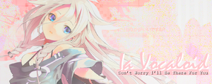 Ia Vocaloid Signature Banner By Me by Laurello7