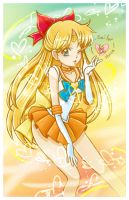 Sailor Venus by LemiaCrescent