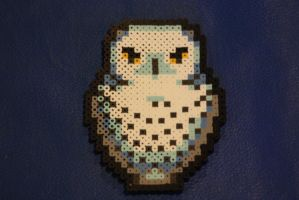 Perler Beads- Hedwig by Puppylover5