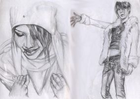 For Charly -Jrock pencil- by Bitterkawaii