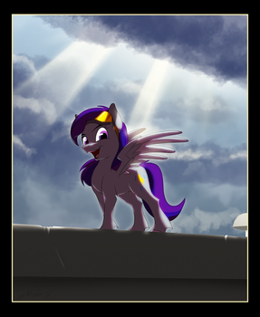 Sudden Storm by Lionheartcartoon