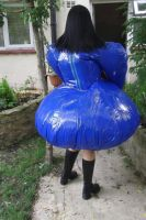 inflatable Mary Maid dress by puncturegown