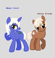 Moon Frost And Cocoa Cream by LordMuffinX3