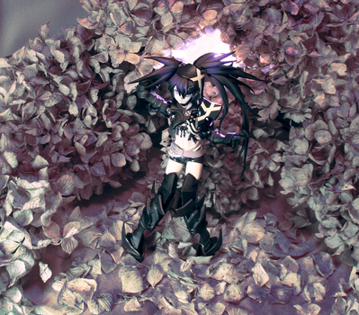 Shy Insane Black Rock Shooter alt. color 2 by arachni42