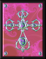 Fractal Cross 1 by hippychick-nm