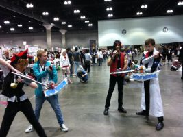 AX day 2 yugioh duel by DrGengar