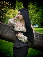 Gothic Garden - Depth Of Thoughts by Mahafsoun