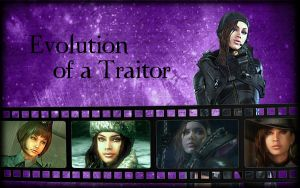 Evolution of a Traitor by Isobel-Theroux