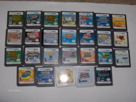 My Ds Collection by color-freak1