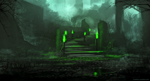 Green Fire by Aeflus