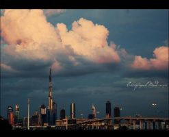 . . Dubai's Sky . . by Exceptional-Mind