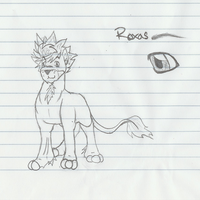 Roxas lion by Pearbear31