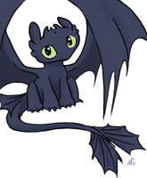 Toothless by aerettberg