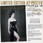 Threnody in Velvet Limited Edition A2 print by ladymorgana