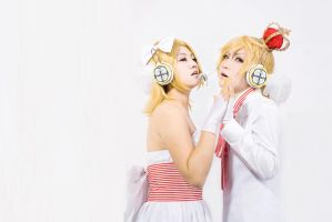 VOCALOID2-Magnet-Twins by kotanimomo