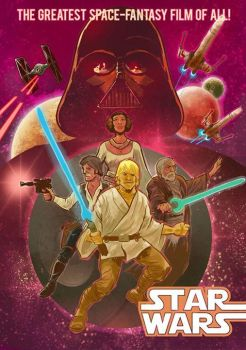 Star Wars Comic #1 Cover by mthemordant