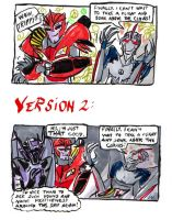 Giddy Starscream is such a hippie! by SnappySnape