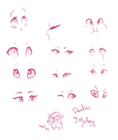 Eye Doodles by MizAmy