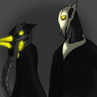 The gemri general and general grievous by GemriQueen
