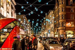 Christmas in Oxford Street 121436 by meriwani