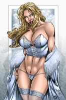 _Color Emma Frost by MARCIOABREU7