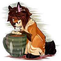 hot chocolate by coffaefox