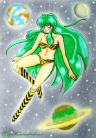 Lum in the space by migio90