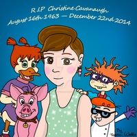 In memory of Christine Cavanaugh by AnimationFanatic