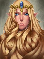 Princess Zelda by R62