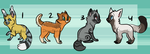 Kitten adoptables 2 | OTA | CLOSED by DaisiesAdopts