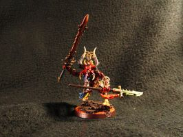 40k/AOS Si'Fon The Bloodmaster, Herald of Khorne by Minisnatcher