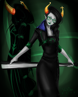 Pavnis Madron Homestuck Fantroll by artisticApparition