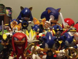 My Sonic Figure Collection 5.5 by DominicSega123