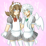 Maid-kuns by Whoodles