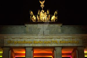 Berlin - Festival of Lights - Brandenburger Tor v2 by DanielDausB