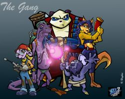 Sly 3 - The Gang by Deathscent