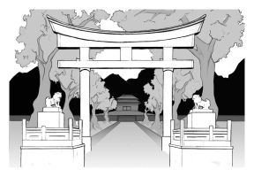 Japanese Temple by VueloNocturno