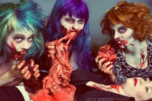 Zombies Consume by sicksubroutine