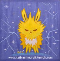 Jolteon Painting by fuish