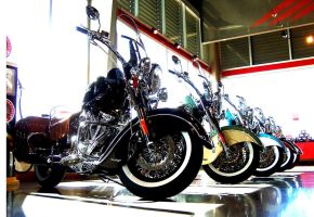 Showroom Indians by jwebbermedia
