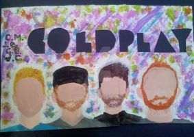 The members of Coldplay by justmeonasailboat