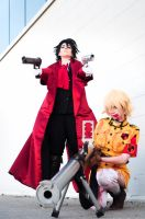 Alucard and Seras: The Howling by DMinorChrystalis