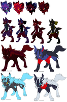 Mixed adopts 5 ::OPEN:: by DappleFeather