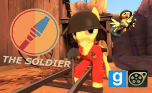 [DL] Soldier Pony by Pika-Robo