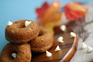 Pumpkin Donuts by laurenjacob