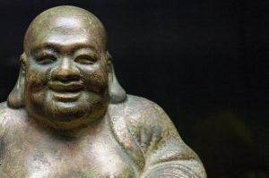 Laughing Buddha by SpicerColor