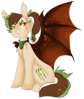 +MLP: AU - Kiwi bat+ by Flow3r-child